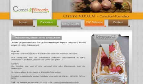 Création site Internet Aix en Provence – Aujoulat