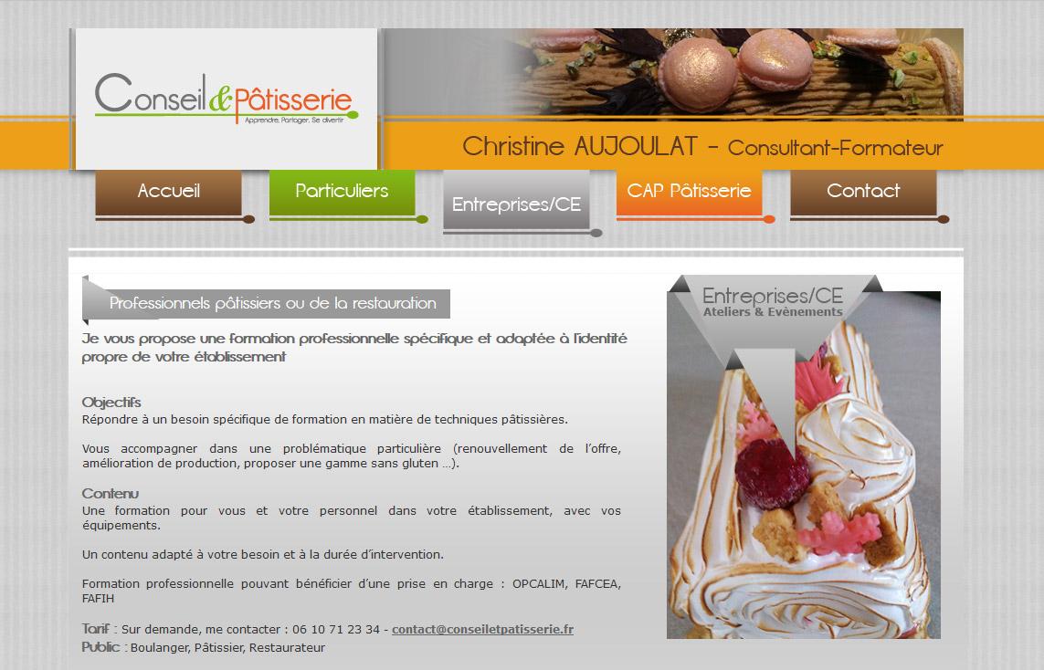 Création de site internet vitrine sur aix-en-provence