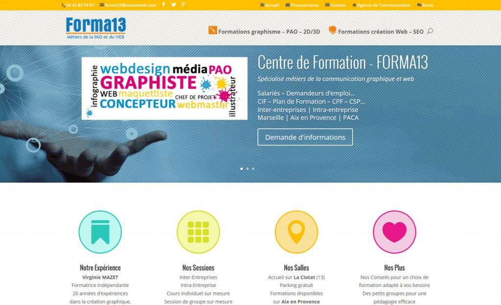 Création site Internet Aubagne – Forma13