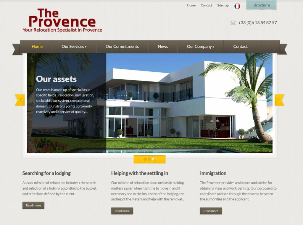 Création site web Aix – The Provence