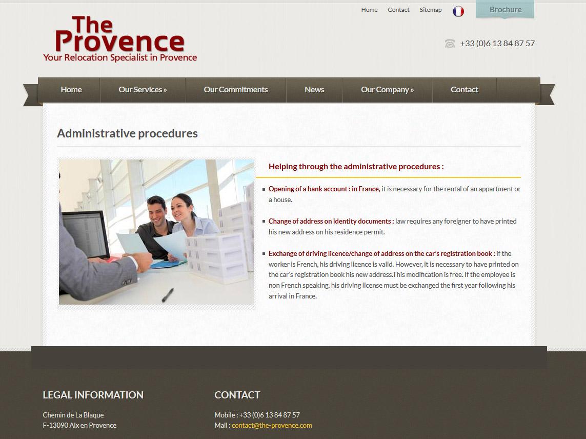 Création site web vitrine aix en provence