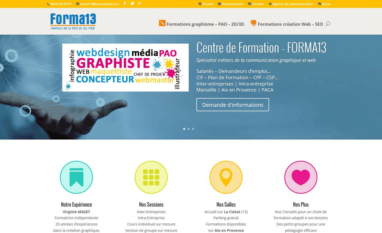 Portfolio - Réalisations de l agence de création graphique Mazet Web ... 0e6db5a9e139