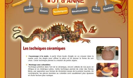 Création site Internet La Ciotat – Pot d'Anne