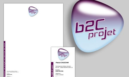 Création logo Aix en Provence – B2C Projet
